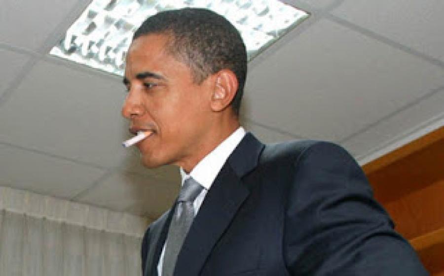 obama-fumeur